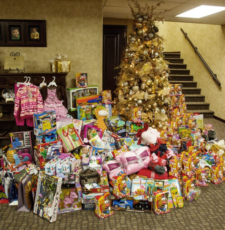 Presents Toys Christmas : Melaleuca celebrates the holidays by filling pantries and